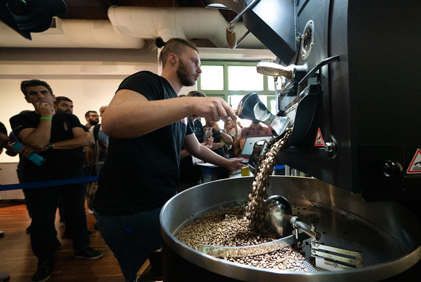 Roasting Competition Athens Coffee Festival